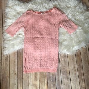 NWOT Motherhood Maternity Knitted cable top